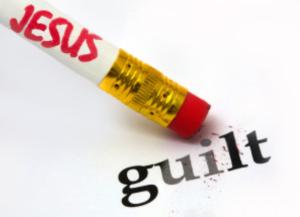 Jesus erases guilt